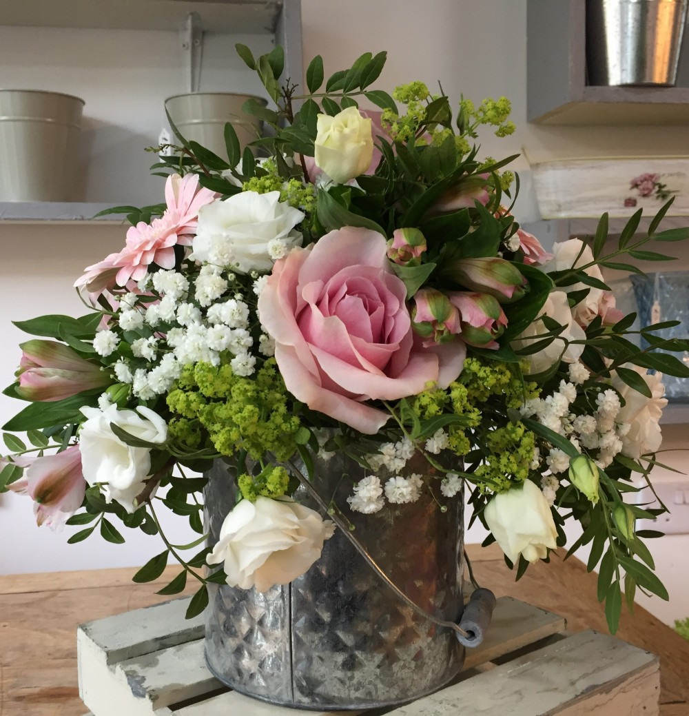 Flower Tin Arrangement