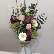 Rustic Jug Arrangment